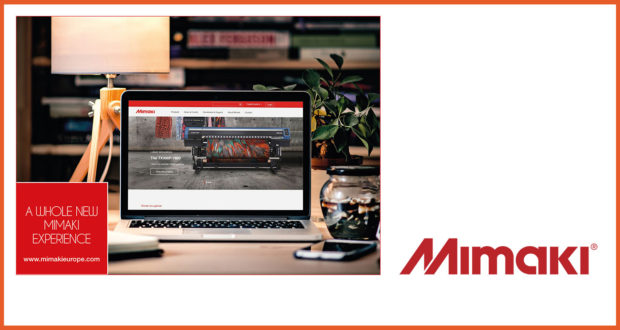 Mimaki launches new website with focus on endless application possibilities