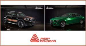 7 new car wrapping colours unveiled by Avery Dennison @ FESPA 2018