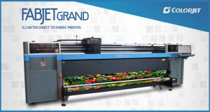 Experience Live Printing on ColorJet's Widest Width Digital Textile Printer @ Heimtextil