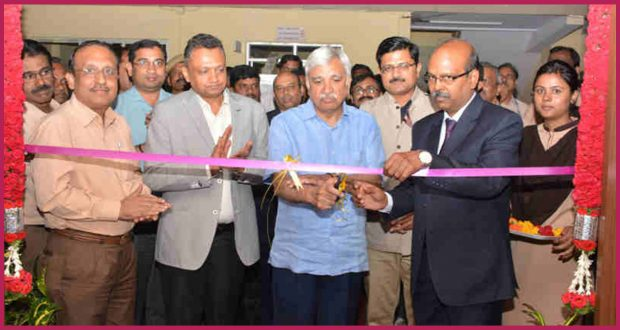 A new EVM Production facility inaugurated at Bharat Electronics