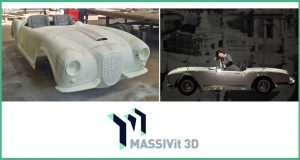 Classic Car Descends to La Scala's Iconic Stage with Massivit 3D Printing
