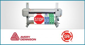 SAi Partners with Avery Dennison to develop specialized RIP Software for New TrafficJet Printing System