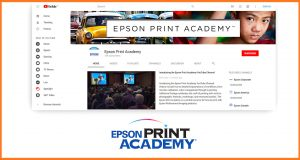 Epson launches revamped Print Academy YouTube Channel