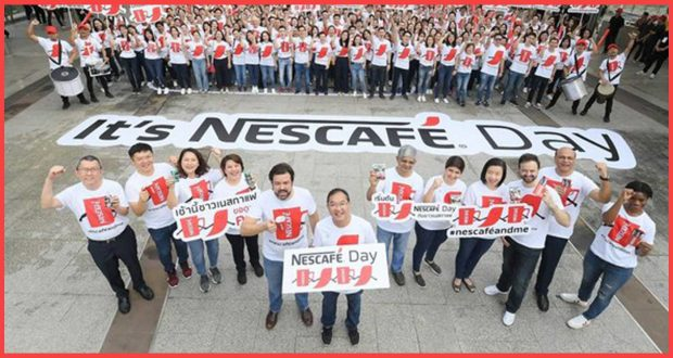 NESCAFÉ gives away 1 million cups of coffee in 4 countries