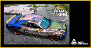"""MetroWrapz wins 2018 """"King of the Wrap World"""" crown in Avery Dennison """"Wrap Like a King™"""" Challenge"""
