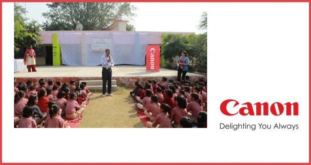 Canon India Marks Month Long Children's Day Celebrations, Motivates Young Lives to Explore Beyond Their Horizons