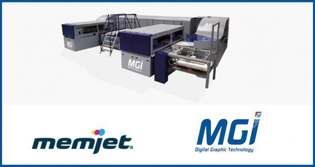 Memjet and MGI Form Strategic Inkjet Technology Partnership