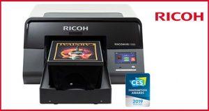 RICOH Ri 1000 Direct to Garment Printer Named CES 2019 Innovation Award Honoree