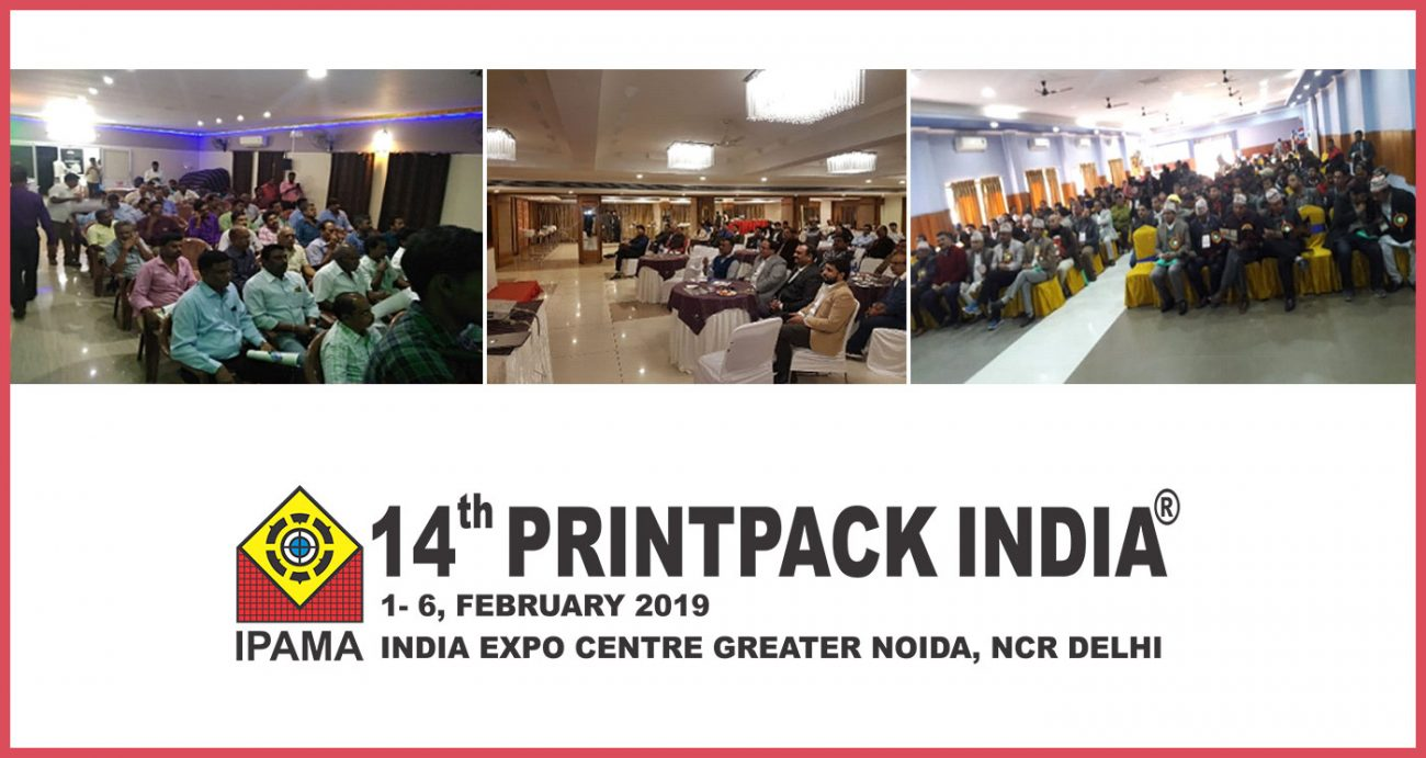 Only 36 days are left for the curtain to rise : Print Pack India