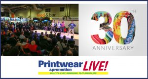 30th anniversary show of Printwear & Promotion LIVE !