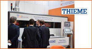 THIEME : Custom made machines for digital glass printing