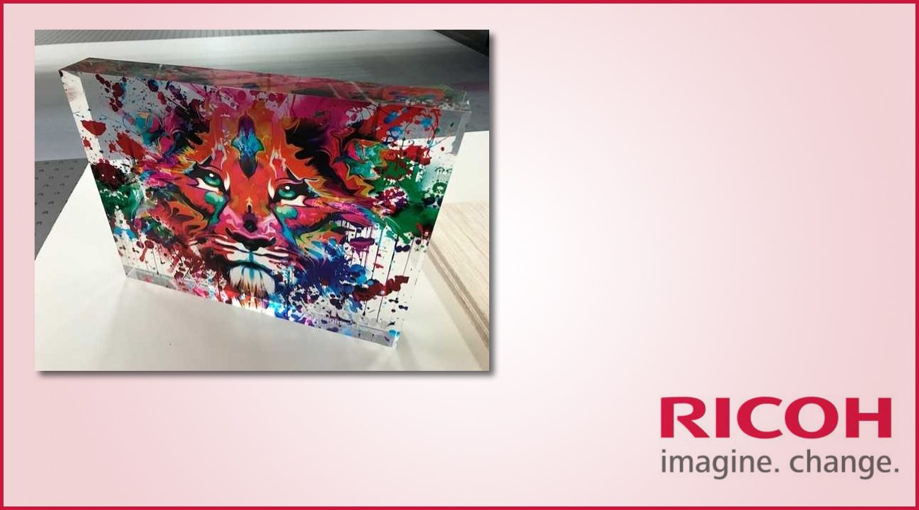Vibrant Applications to demonstrate Ricoh's Production Versatility