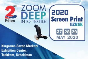 Screen Print Uzbek 2020 - Fabric Show Uzbek 2020